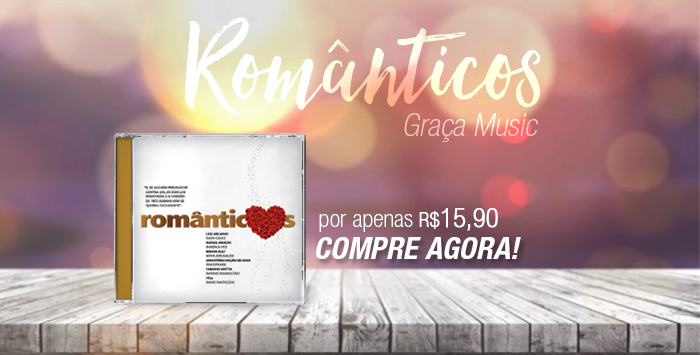 CD Romanticos - Graça Music